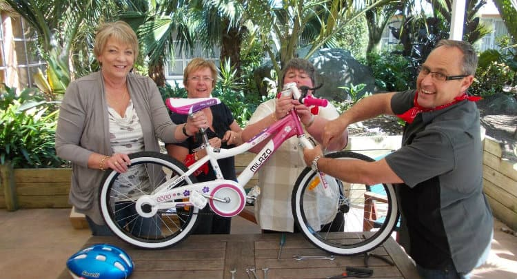 Bikes for Tykes Charity Team Building Team Building Activities Brisbane ideas