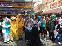 Amazing Race - Great race Challenge - Perth participants dressed up