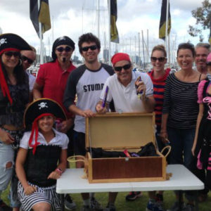 Pirates of the swan team building activities Perth