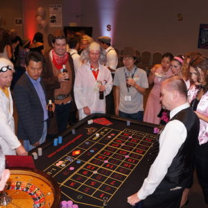 Casino Games - Oceans 11 game team building activity for larger groups