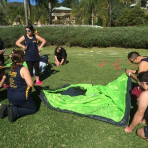Charity Survivor team building activities