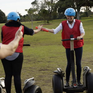 Segway Challenge - Seglympics Experience team building activities Canberra