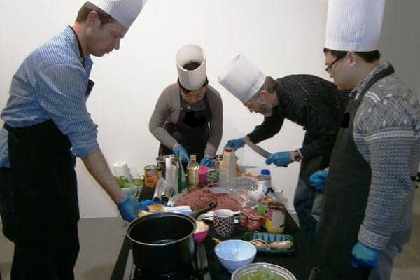a mobile cooking activity called Team Chef