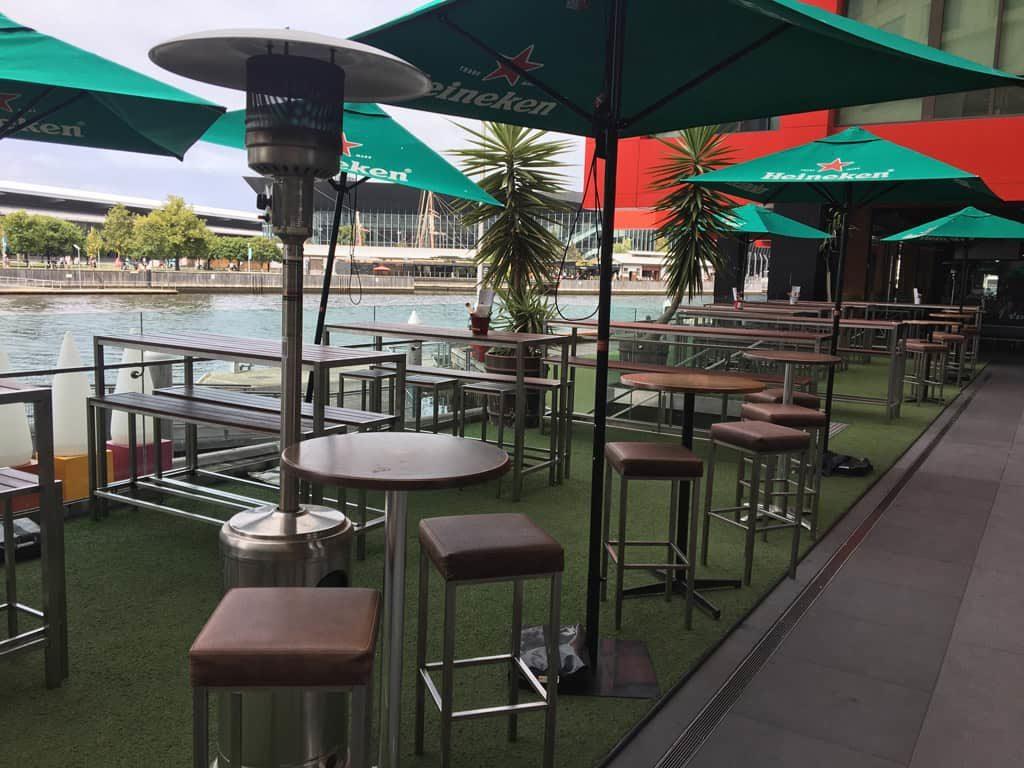 Wharf Hotel Melbourne Venue team building activities in melbourne cbd