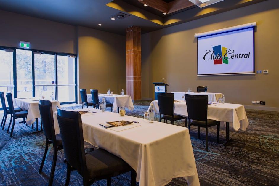 Club Central Events Menai Venue with tables team building activities Sydney
